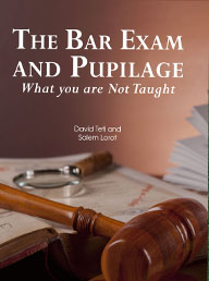 the bar exam and pupilage-book